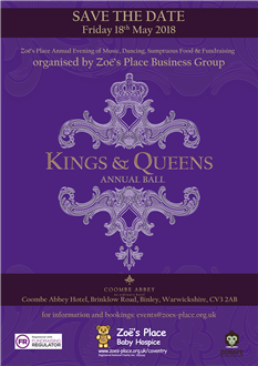 "Zoe's Place ""Kings & Queens"" Ball 2018"