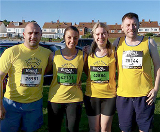 Great North Run for Middlesbrough Zoe's Place
