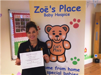 Mentor Award for Zoë's Place Nurse!
