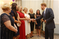Meeting HRH Prince Harry