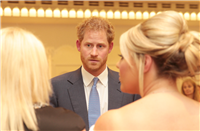Talking with HRH Prince Harry