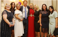 Our amazing team with HRH Prince Harry