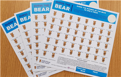 Our very own Guess The Bear fundraising cards now available!
