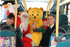 Arriva North West Christmas Visit