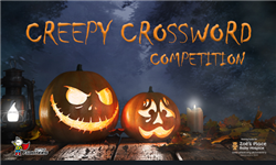 Creepy Crossword - Halloween Competition