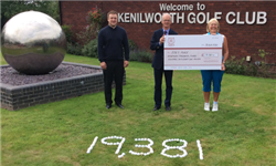 Kenilworth Golf Club Raise £19,381