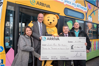 Arriva NorthWest raises £22,000