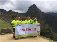 Trekkers reach heights of success!
