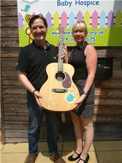 Auction total for Shires Guitar is off the scales!