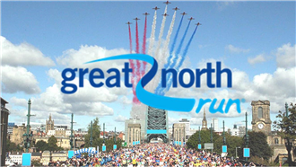 Great North Run Half Marathon 2018