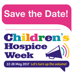 Let's turn up the volume on Children's Hospice Week!