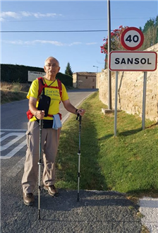 Local Grandad smashes his target by miles!
